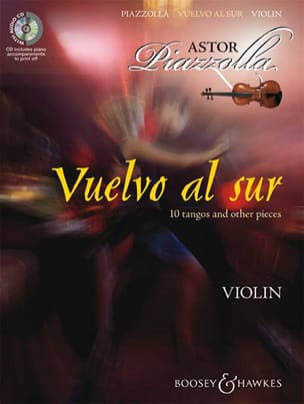 Vuelvo Al sur - Violon + CD Astor Piazzolla Partition laflutedepan