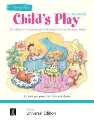 Child's Play Ein Kinderspiel James Rae Partition laflutedepan