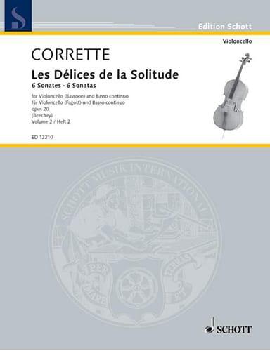 6 Sonates Op.20 Vol.2 - CORRETTE - Partition - laflutedepan.com