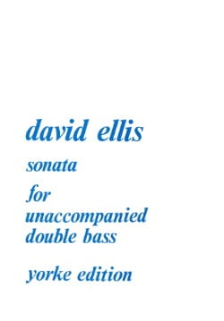 Sonate op. 42 - Double bass David Ellis Partition laflutedepan