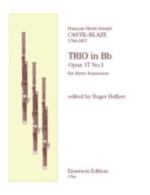 Trio op. 17 n° 1 - 3 Bassoons - laflutedepan.com