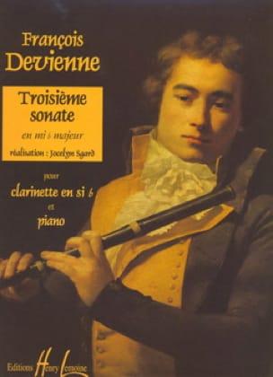 3ème Sonate en Mib Majeur - DEVIENNE - Partition - laflutedepan.com
