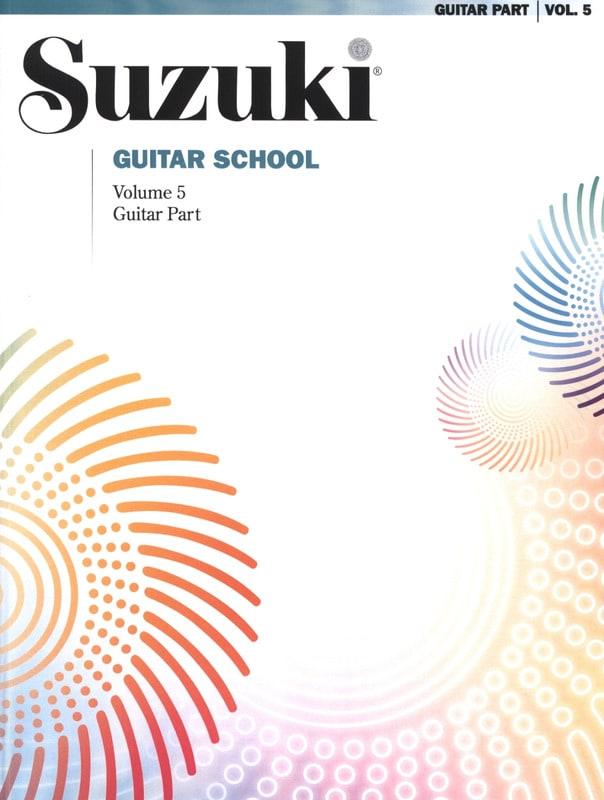 Suzuki Guitar School Guitar Part, Volume 5 - SUZUKI - laflutedepan.com