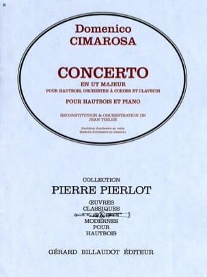 Concerto en Ut Majeur - Hautbois CIMAROSA Partition laflutedepan