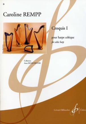 Croquis 1 Caroline Rempp Partition Harpe - laflutedepan