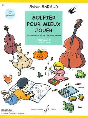 Solfier pour Mieux Jouer Volume 1 - Professeur - laflutedepan.com