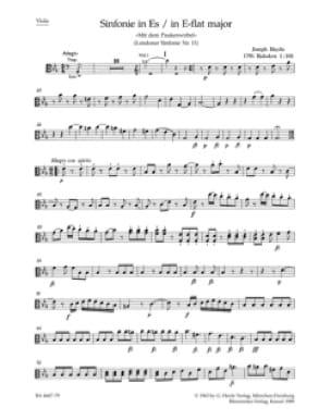 Symphonie Nr. 103 Es-Dur - Matériel Complet - HAYDN - laflutedepan.com