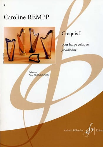 Croquis 1 - Caroline Rempp - Partition - Harpe - laflutedepan.com