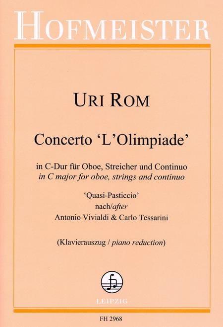 Concerto L'Olimpiade - Hautbois et piano - Uri Rom - laflutedepan.com