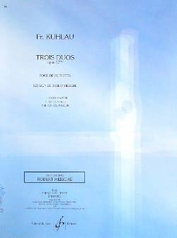 3 Duos op. 57bis - 3ème duo - 2 Flûtes Friedrich Kuhlau laflutedepan