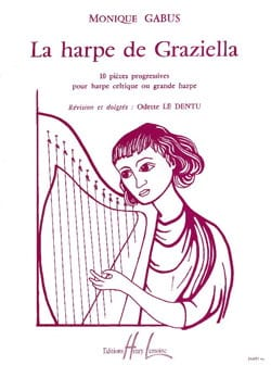 Harpe de Graziella Monique Gabus Partition Harpe - laflutedepan