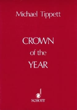Crown of the Year - Score Michael Tippett Partition laflutedepan