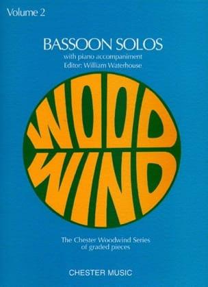 Bassoon Solos Volume 2 William Waterhouse Partition laflutedepan