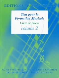 Tout pour la formation musicale,Volume 2 AB Partition laflutedepan