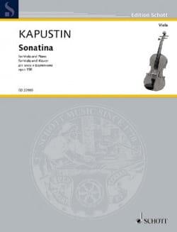Sonatine, op. 158 - Alto et Piano Nikolai Kapustin laflutedepan