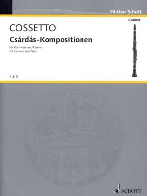Csárdás-Kompositionen Emil Cossetto Partition laflutedepan