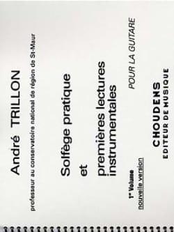 Solfège pratique - Volume 1 - Guitare et 1ères lectures instrumentales laflutedepan