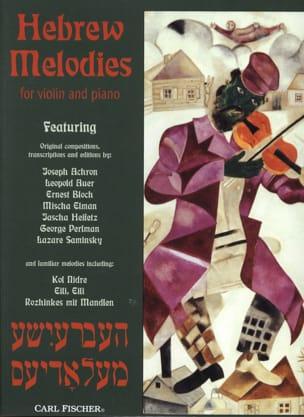 Hebrew Melodies laflutedepan