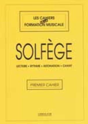 Cahiers de la F. M. - Solfège - Volume 1 - laflutedepan.com