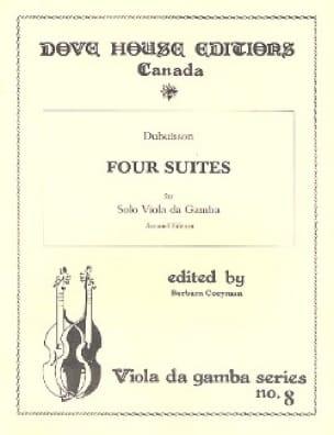 4 Suites - Viole de gambe - DuBuisson - Partition - laflutedepan.com