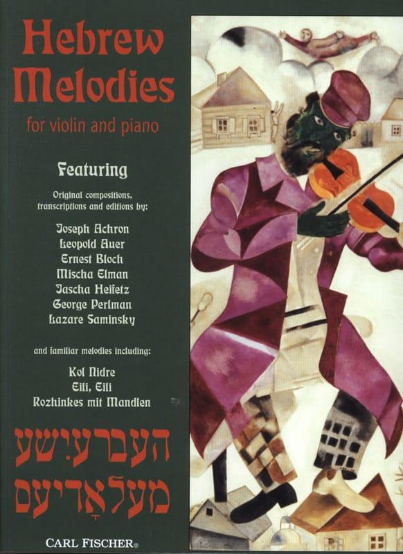 Hebrew Melodies - laflutedepan.com