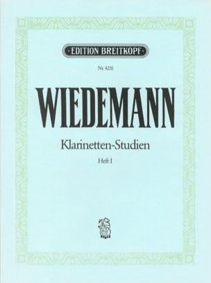 Klarinetten-Studien, Bd I Ludwig Wiedemann Partition laflutedepan
