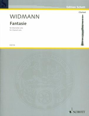 Fantasie Jörg Widmann Partition Clarinette - laflutedepan