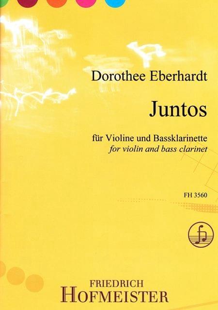 Juntos - Dorothee Eberhardt - Partition - Duos - laflutedepan.com