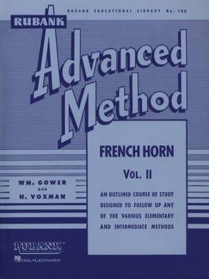 Advanced Method Volume 2 Himie Voxman & WM. Gower laflutedepan
