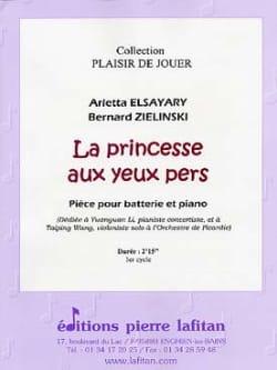 La Princesse Aux Yeux Pers laflutedepan
