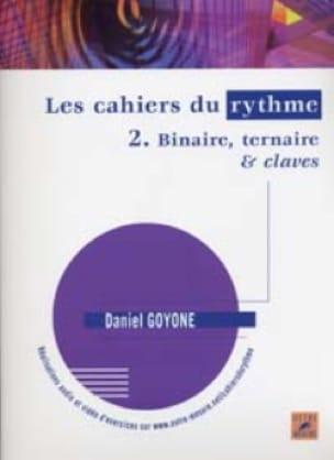 Les Cahiers du Rythme 2 - Daniel Goyone - Partition - laflutedepan.com