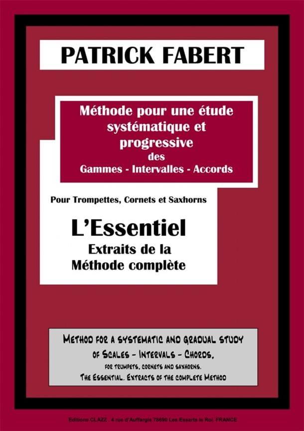 Méthode - Volume L' Essentiel - Patrick Fabert - laflutedepan.com
