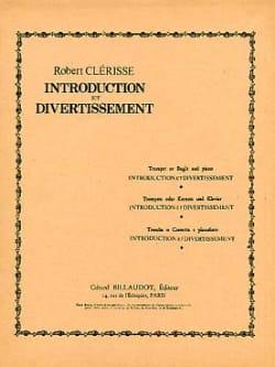 Introduction Et Divertissement Robert Clérisse Partition laflutedepan