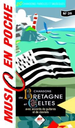 Music en poche N° 39 - Chansons de Bretagne Partition laflutedepan
