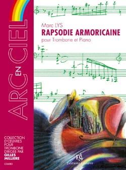 Rapsodie Armoricaine Marc Lys Partition Trombone - laflutedepan