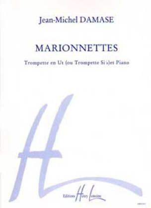 Marionnettes - Jean-Michel Damase - Partition - laflutedepan.com