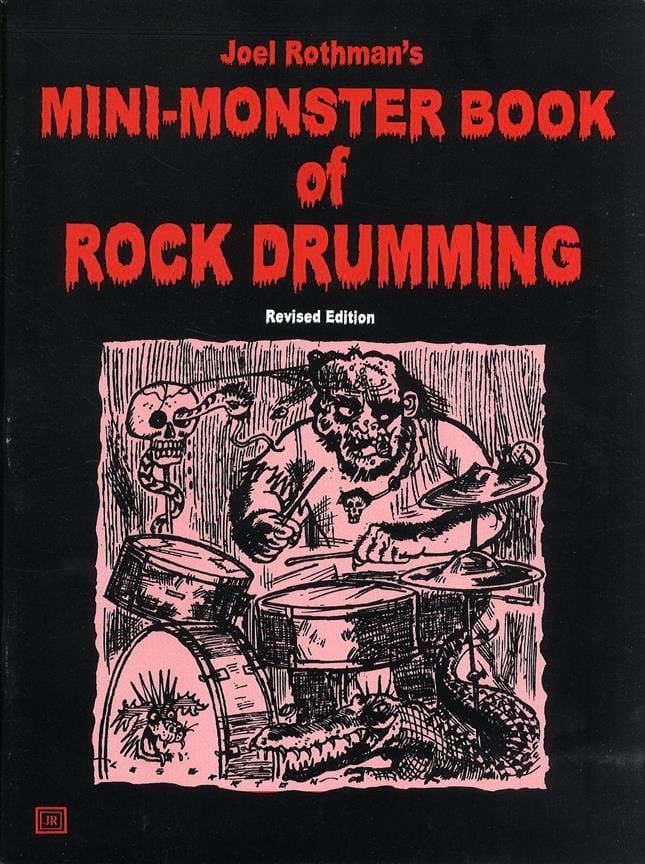 Mini-Monster Book Of Rock Drumming - Joel Rothman - laflutedepan.com