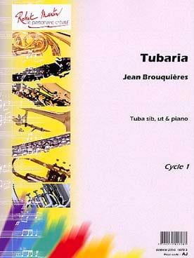 Tubaria Jean Brouquières Partition Tuba - laflutedepan