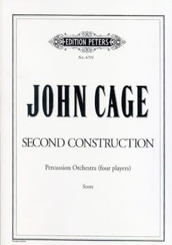 Second Construction - Score CAGE Partition laflutedepan