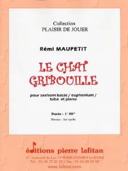 Le Chat Gribouille Rémi Maupetit Partition Tuba - laflutedepan