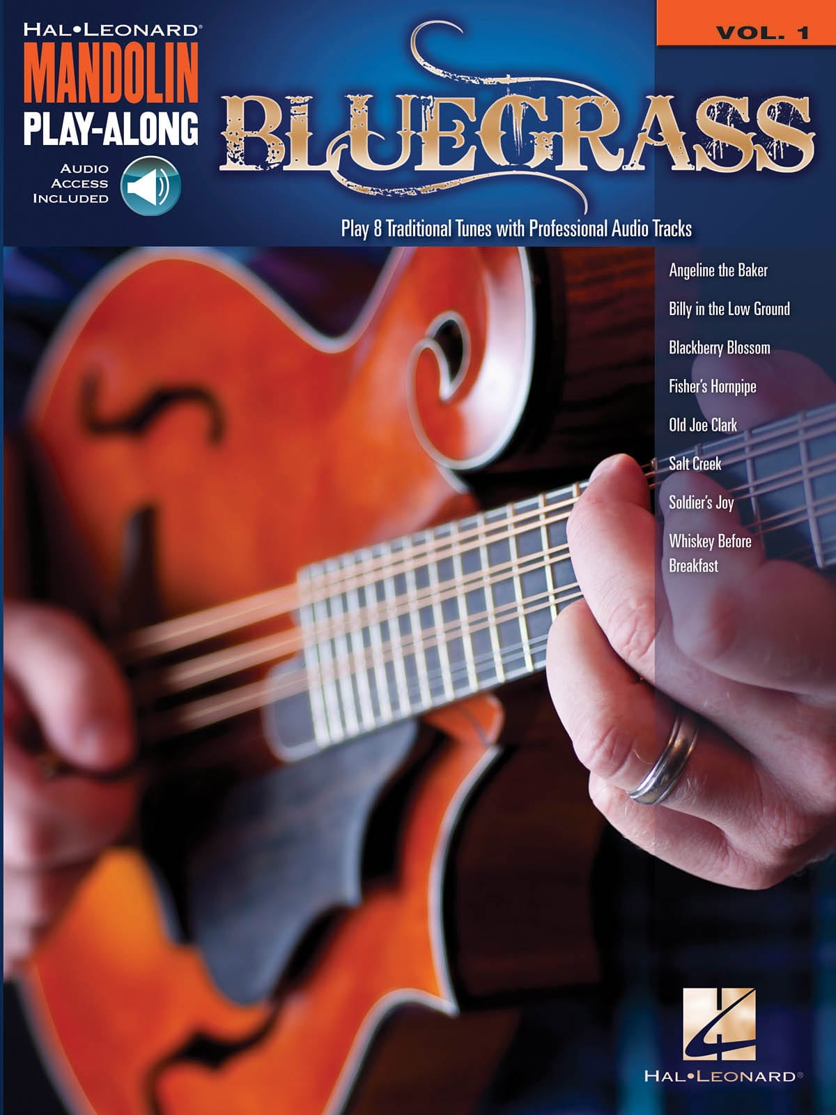 Mandolin Play-Along volume 1 - Bluegrass - laflutedepan.com