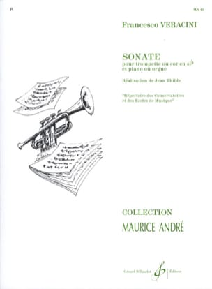 Sonate Francesco Veracini Partition Trompette - laflutedepan
