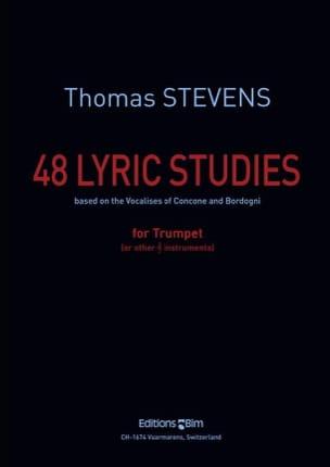 48 Lyric Studies Thomas Stevens Partition Trompette - laflutedepan