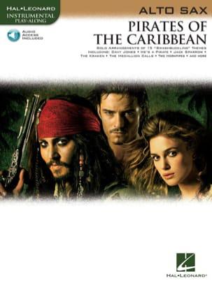 Pirates des Caraïbes Klaus Badelt Partition Saxophone - laflutedepan