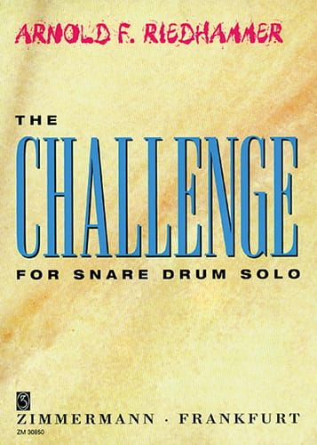 The Challenge - Arnold F. Riedhammer - Partition - laflutedepan.com