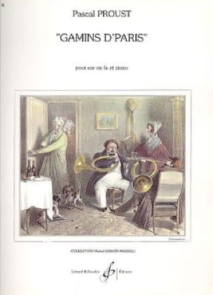 Gamins d'Paris - Pascal Proust - Partition - Cor - laflutedepan.com
