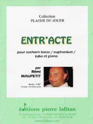 Entr'acte - Rémi Maupetit - Partition - Tuba - laflutedepan.com