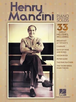 Henry Mancini Piano Solos MANCINI Partition Jazz - laflutedepan