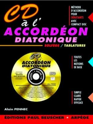 CD à l'accordéon diatonique Alain Pennec Partition laflutedepan