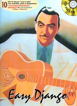 Easy Django Volume 1 Django Reinhardt Partition Jazz - laflutedepan